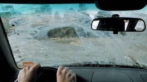Some say that their vision with cataracts is similar to looking through a dirty car windshield.